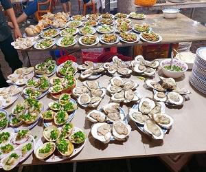 Chợ hải sản ở Vũng Tàu
